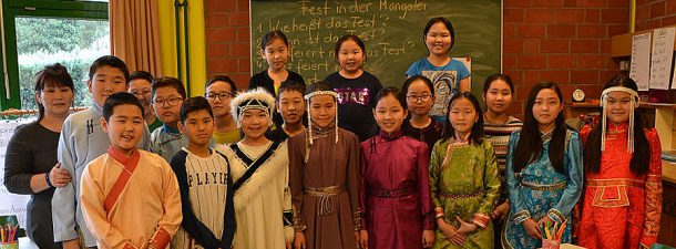 Mongolei-Besuch